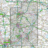 224 Corby, Kettering & Wellingborough Historical Mapping - Anquet Maps