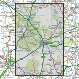 229 Thetford Forest in The Brecks - Anquet Maps