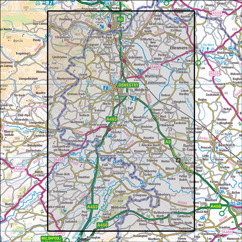 240 Oswestry Historical Mapping