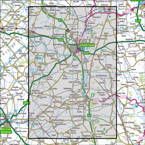 247 Grantham - Anquet Maps