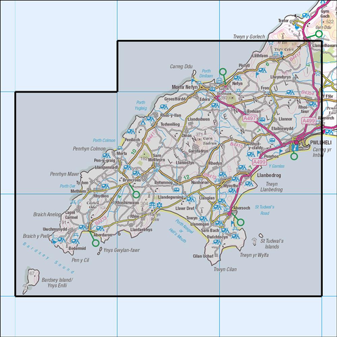 253 Lleyn Peninsula West - Anquet Maps