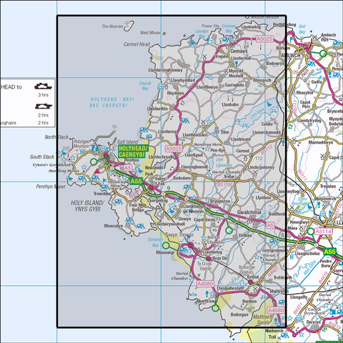 262 Anglesey West Historical Mapping - Anquet Maps