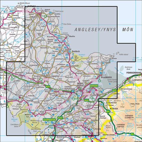 263 Anglesey East  Historical Mapping - Anquet Maps