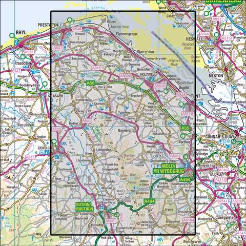 265 Clwydian Hills  Historical Mapping - Anquet Maps