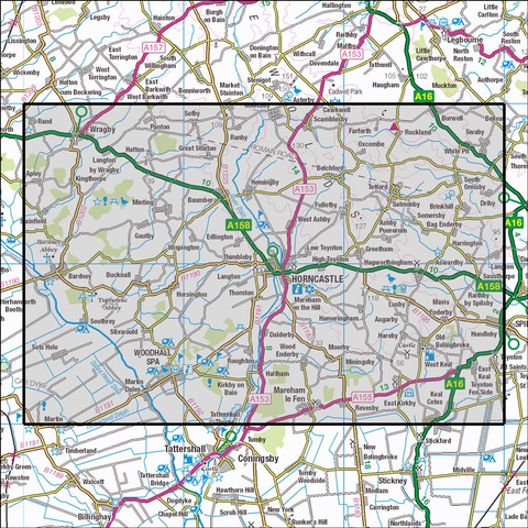 273 Lincolnshire Wolds South Historical Mapping - Anquet Maps