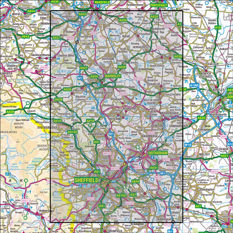 278 Sheffield & Barnsley Historical Mapping - Anquet Maps