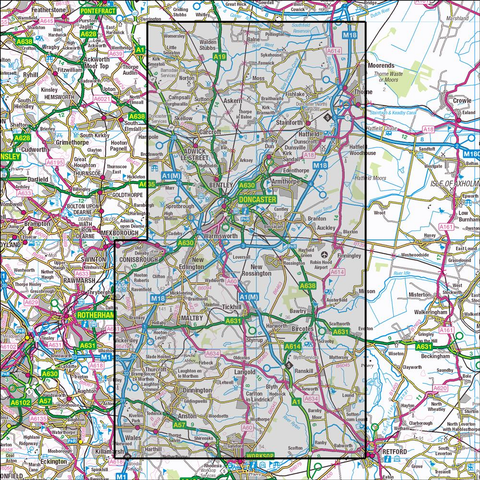 279 Doncaster Historical Mapping Historical Ordnance Survey – Anquet ...