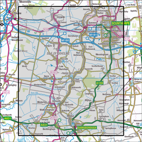 280 Isle of Axholme Historical Mapping - Anquet Maps