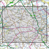 282 Lincolnshire Wolds North Historical Mapping - Anquet Maps