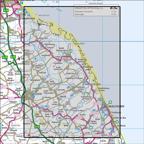 283 Louth & Mablethorpe - Anquet Maps