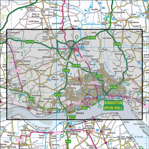 293 Kingston upon Hull & Beverley - Anquet Maps
