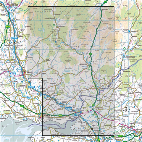 323 Eskdale & Castle Oer Forest - Anquet Maps