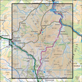 329 Lowther Hills, Sanquhar & Leadhills - Anquet Maps