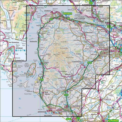 341 Greenock, Largs & Millport - Anquet Maps