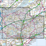 370 Glenrothes North, Falkland & Lomond Hills Historical Mapping - Anquet Maps