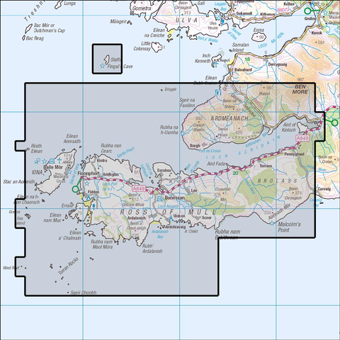 373 Ross of Mull - Anquet Maps