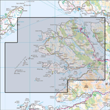 374 Isle of Mull North, Tobermory & Staffa Historical Mapping - Anquet Maps