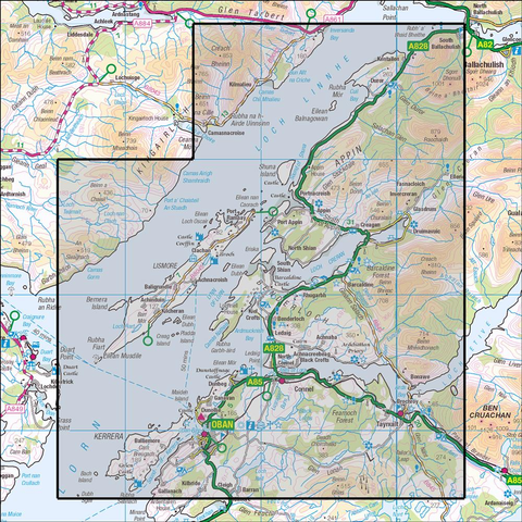 376 Oban & North Lorn - Anquet Maps