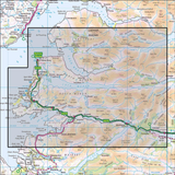 398 Loch Morar, Mallaig, Arisaig & Glenfinnan Historical Mapping - Anquet Maps