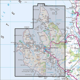 407 Skye - Dunvegan Historical Mapping - Anquet Maps