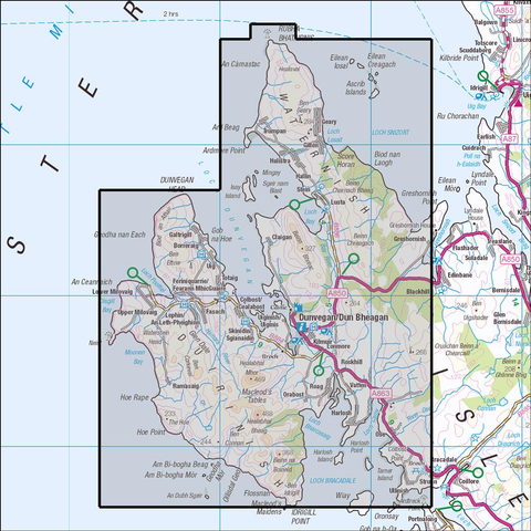 407 Skye - Dunvegan - Anquet Maps