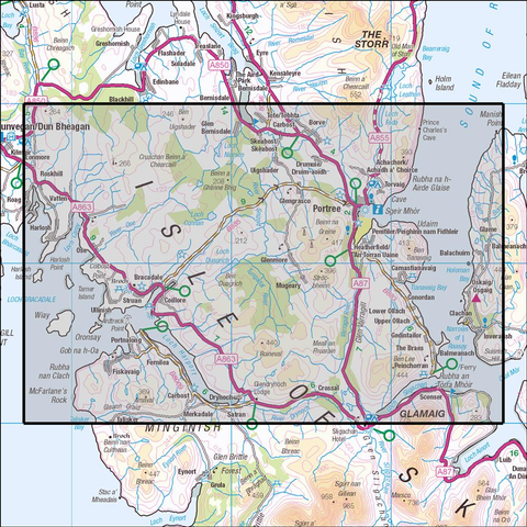 410 Skye - Portree & Bracadale - Anquet Maps