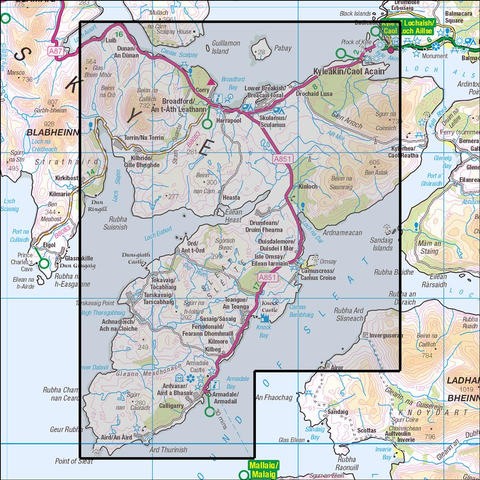 412 Skye - Sleat - Anquet Maps