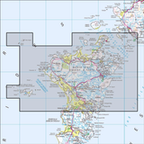 454 North Uist & Berneray /  Uibhist a Tuath agus  Historical Mapping - Anquet Maps