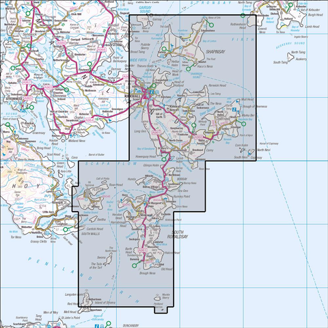461 Orkney - East Mainland Historical Mapping - Anquet Maps