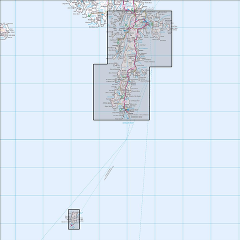 466 Shetland - Mainland South Historical Mapping - Anquet Maps