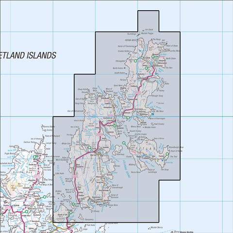 470 Shetland - Unst, Yell & Fetlar Historical Mapping