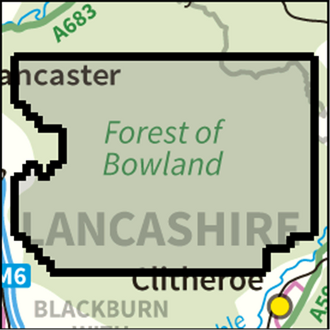 SW Forest Bowland - Anquet Maps