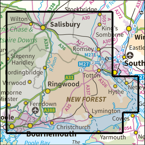New Forest National Park - Anquet Maps