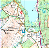 West Highland Way + Kelvin Walkway link - Anquet Maps