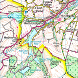 75 Berwick-upon-Tweed Holy Island & Wooler - Anquet Maps