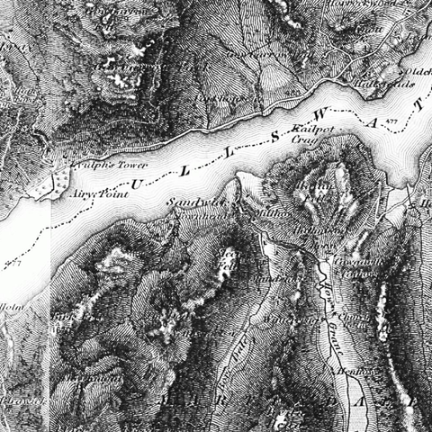 448 Strath Naver/Srath Nabhair & Loch Loyal Historical Mapping - Anquet Maps