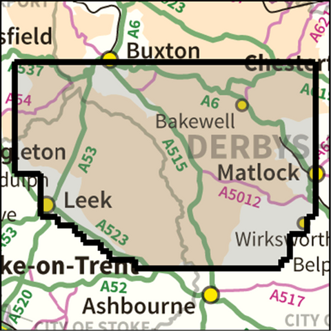 SW Peak District South - Anquet Maps