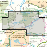 BMM Schiehallion, Ben Lawers & Glen Lyon - Anquet Maps