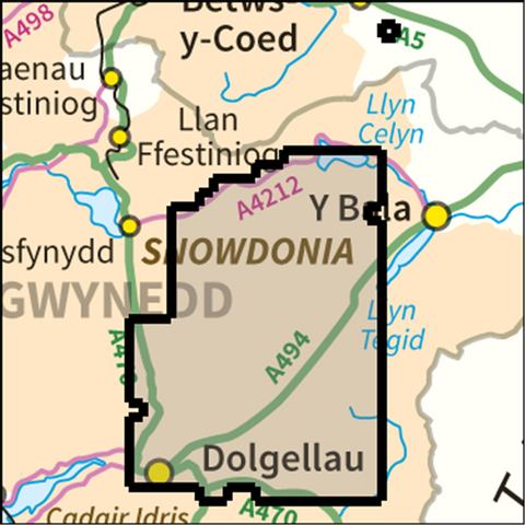 SW Snowdonia Arans - Anquet Maps