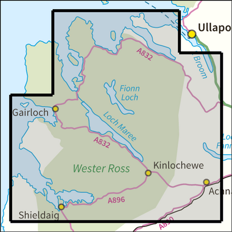 BMM Torridon & Fisherfield - Anquet Maps