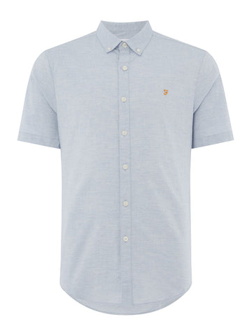Farah Steen Shirt Short Sleeve Farah - 7clothing Cardiff