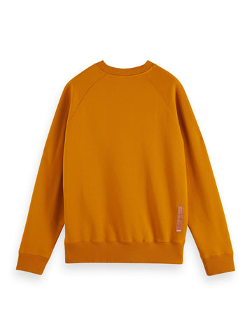 Scotch and Soda Crew neck organic cotton sweatshirt 160812