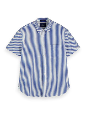 Scotch And Soda Regular Fit Short Sleeved Shirt 155244 - 7clothing