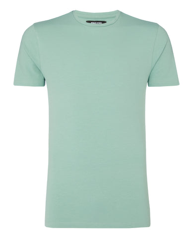 Remus Tapered Fit Cotton-Stretch T-Shirt Light Green 53121 - 7clothing