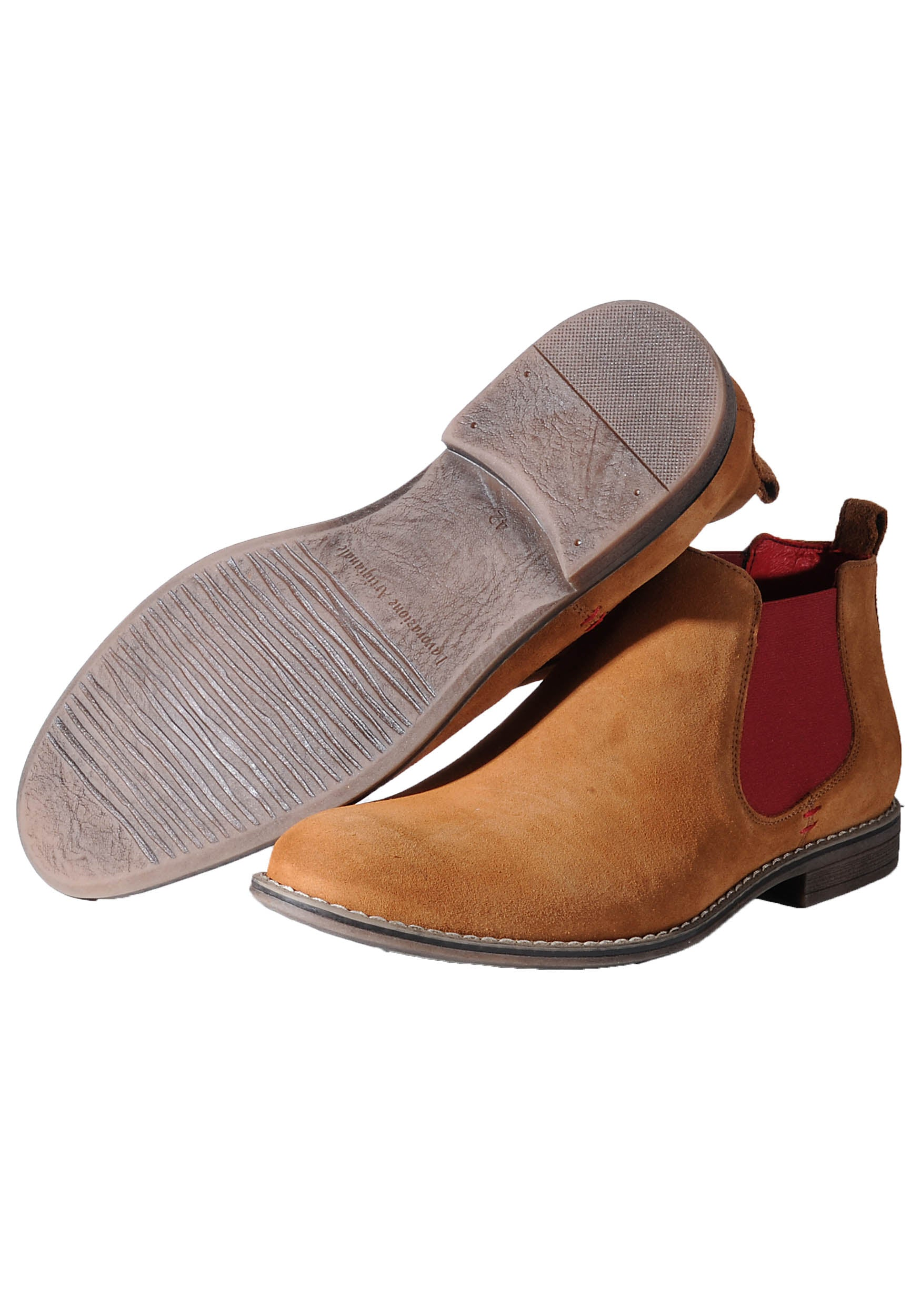 Lacuzzo Tan Chelsea Boot Lacuzzo - 7clothing Cardiff