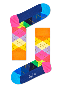 Happy Socks Argyle Sock ARY01-0102 Happy Socks - 7 clothing Cardiff