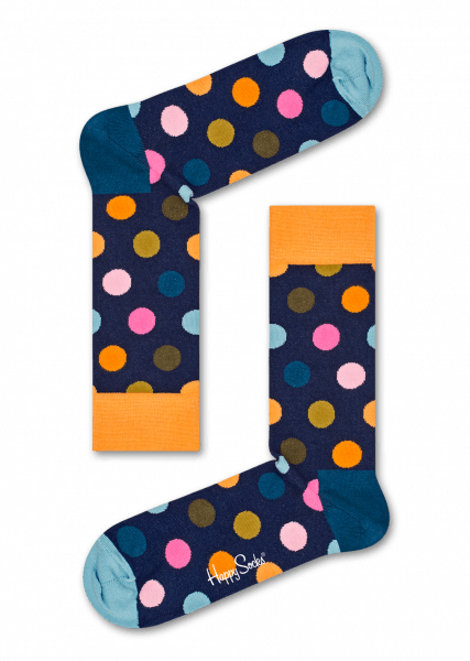 Happy Socks Big Dots BD01-6006 Happy Socks - 7clothing Cardiff