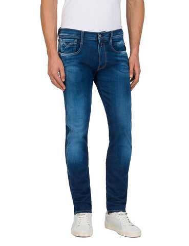 Replay Jeans Surf Blue Edition Ambass Fit Replay - 7 clothing Cardiff