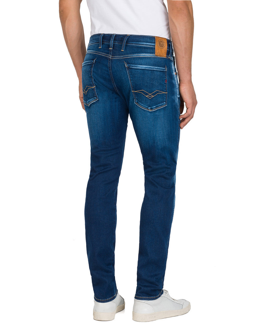 Replay Jeans Surf Blue Edition Ambass Fit Replay - 7clothing Cardiff