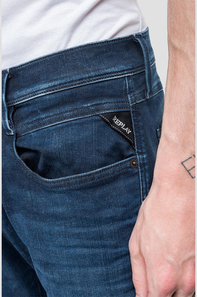 Replay HYPERFLEX ANBASS JEANS CLOUDS M914 .000.661 E05 Replay - 7 clothing Cardiff